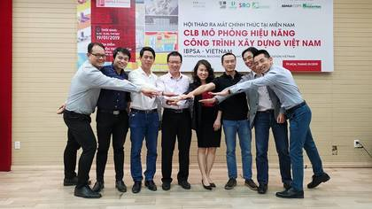 The introduction of IBPSA Vietnam in Southern Vietnam